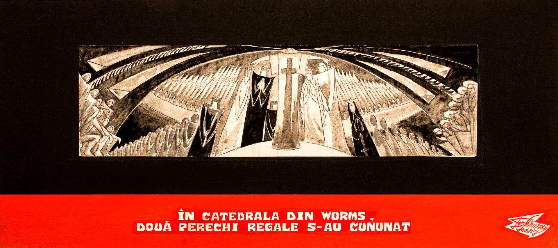 În catedrala din Worms, două perechi regale s-au cununat