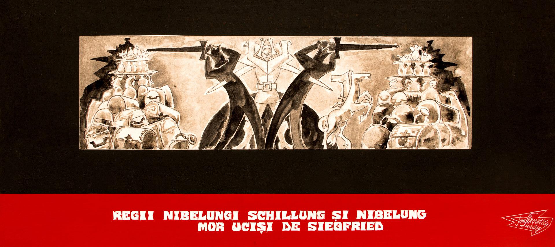 Regii Nibelungi, Schillung și Nibelung mor uciși de Siegfried