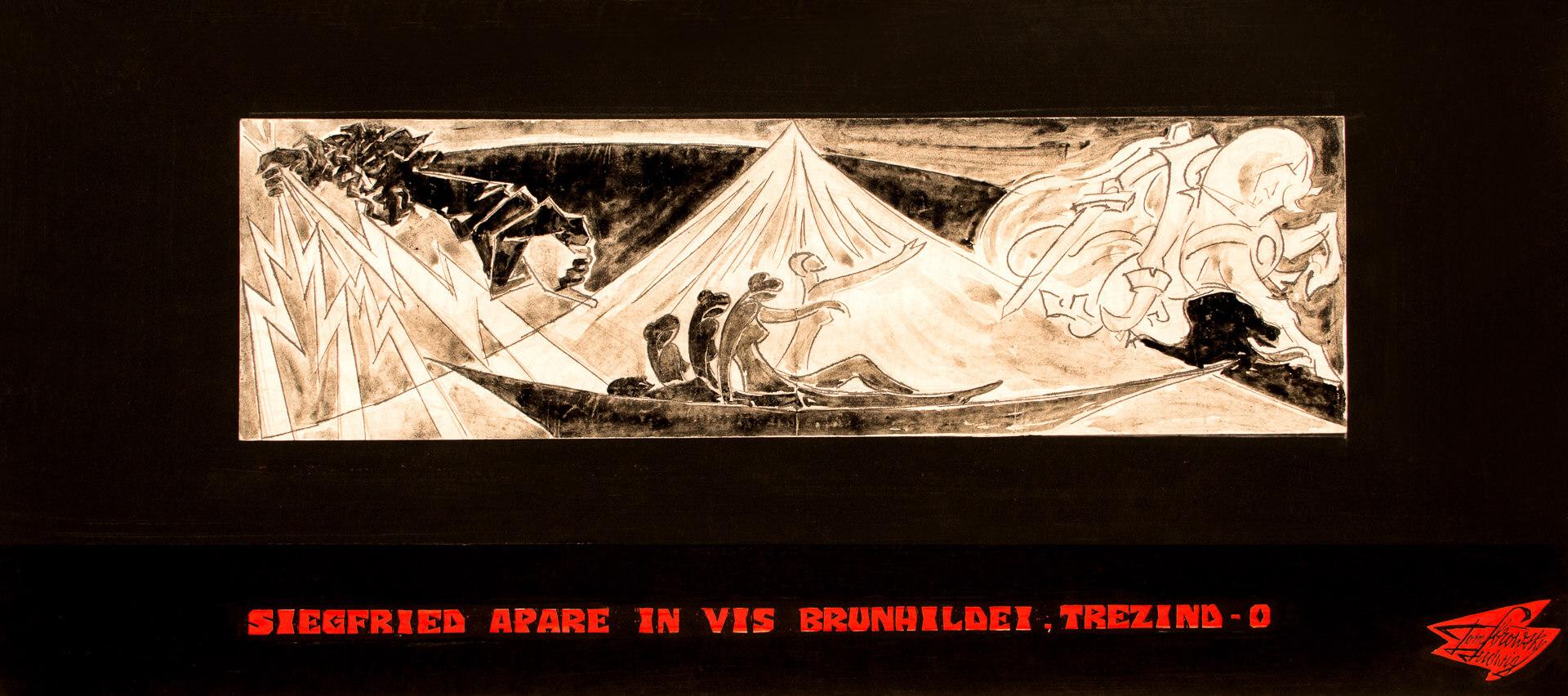 Siegfried apare în vis Brunhildei, trezind-o
